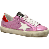 Scarpe Donna Sneakers basse Golden Goose May Glitter Rosa