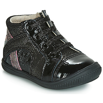 Scarpe Bambina Sneakers basse GBB ROSETTA Nero-disco