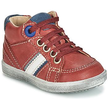 Scarpe Bambino Sneakers alte GBB ANGELITO Bordeaux