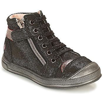 Scarpe Bambina Sneakers alte GBB DESTINY Nero / Pailleté