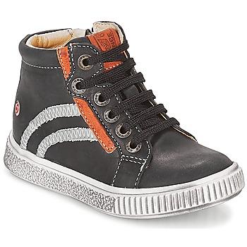Scarpe Bambino Sneakers alte GBB NESTOR Nero