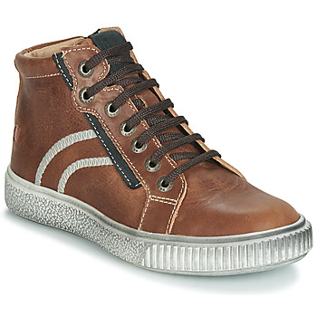 Scarpe Bambino Sneakers alte GBB NESTOR Marrone