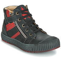 Scarpe Bambino Sneakers alte GBB RAMBOUTAN Nero