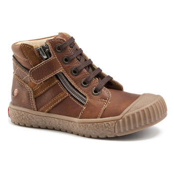 Scarpe Bambino Sneakers alte GBB RAMBOUTAN Marrone