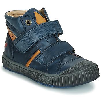 Scarpe Bambino Sneakers basse GBB RAIFORT Marine-ocra