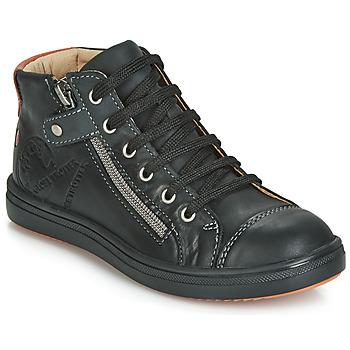 Scarpe Bambino Sneakers alte GBB NICO Nero