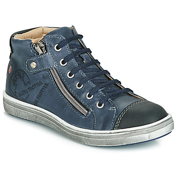 Scarpe Bambino Sneakers alte GBB NICO Marine