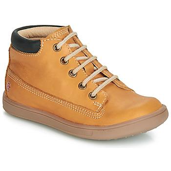 Scarpe Bambino Sneakers alte GBB NORMAN Ocre