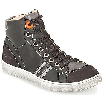 Scarpe Bambino Sneakers alte GBB ANGELO Nero
