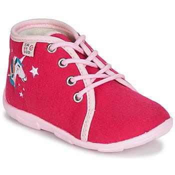 Scarpe Bambina Pantofole GBB FEE ARC EN CIEL Lampone