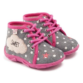 Scarpe Bambina Pantofole GBB BUBBLE Grigio/rosa