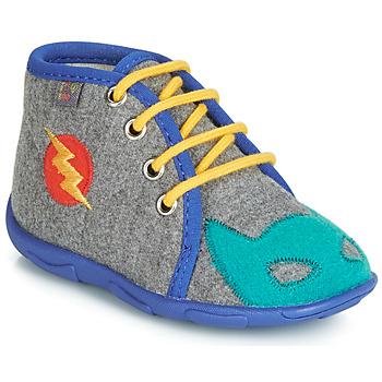 Scarpe Bambino Pantofole GBB SUPER BOYS Grigio / Blu