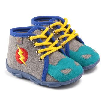 Scarpe Bambino Pantofole GBB SUPER BOYS Grigio-blu