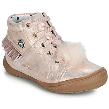 Scarpe Bambina Sneakers alte Catimini ROSALIE Rosa / Poudré