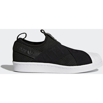 Scarpe Donna Sneakers basse adidas Originals Scarpe Superstar Slip-on Nero / Nero / Bianca