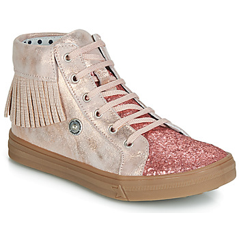 Scarpe Bambina Sneakers alte Catimini LOULOU Rosa