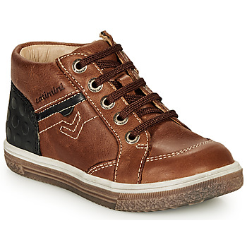 Scarpe Bambino Sneakers alte Catimini PASCOU Nub / Marrone