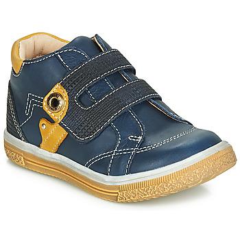 Scarpe Bambino Sneakers alte Catimini BICHOU Marine / Mostarda
