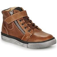 Scarpe Bambino Sneakers alte Catimini TOBBY Nub / Marrone