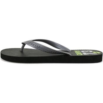 Scarpe Uomo Infradito Lotto sandali grigio gomma nero AG139 Grigio