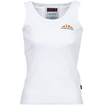 Abbigliamento Donna Top / T-shirt senza maniche Les voiles de St Tropez BLENNIE Bianco
