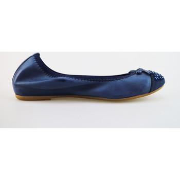 Scarpe Donna Ballerine Cruz ballerine blu pelle camoscio AG314 blu