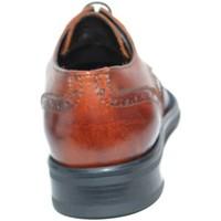 Scarpe Uomo Derby Made In Italia Scarpe uomo francesina stringata cuoio vera pelle art:b2345 ant CUOIO