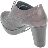 Scarpe Donna Stivaletti Malu Shoes Scarpe donna art.tr4322 tronchetto testa di moro stringato moda TESTA DI MORO