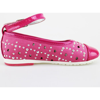 Scarpe Bambina Ballerine Didiblu ballerine pelle scamosciata vernice AG486 Rosa