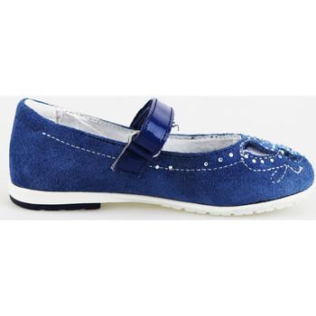 Scarpe Bambina Ballerine Didiblu ballerine blu camoscio AG487 blu