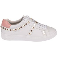 Scarpe Donna Sneakers basse Ash Play Studded Gold and Pink Sneakers Bianco