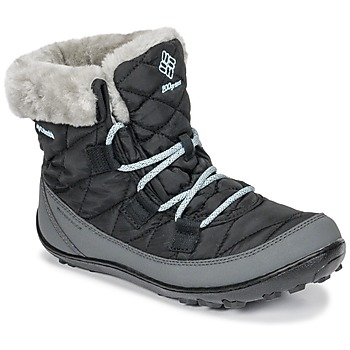 Scarpe Unisex bambino Stivali da neve Columbia YOUTH MINX SHORTY OMNI-HEAT™ WATERPROOF Nero