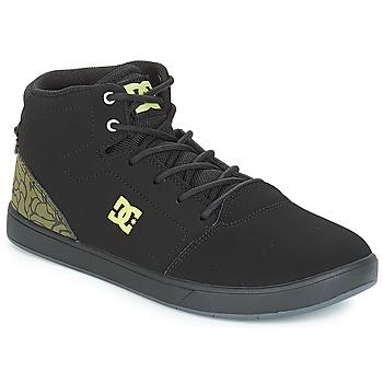 Scarpe Unisex bambino Sneakers alte DC Shoes CRISIS HIGH SE B SHOE BK9 Nero / Verde