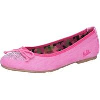 Scarpe Bambina Ballerine Lulu' scarpe bambina LULU' ballerine rosa fucsia tela AG639 Rosa