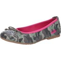 Scarpe Bambina Ballerine Lulu' scarpe bambina LULU' ballerine verde tela AG640 Verde