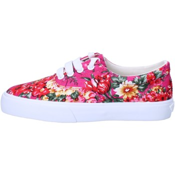 Scarpe Bambina Sneakers basse Lelli Kelly sneakers rosa fucsia tessuto AG670 Rosa