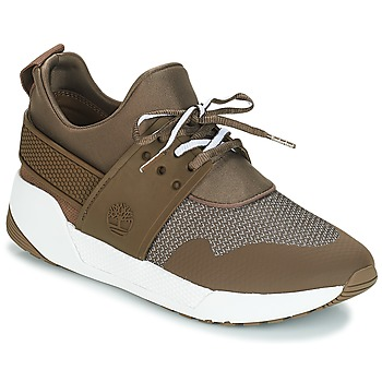 Scarpe Donna Sneakers basse Timberland Kiri Up Knit Oxford w/PU Marrone