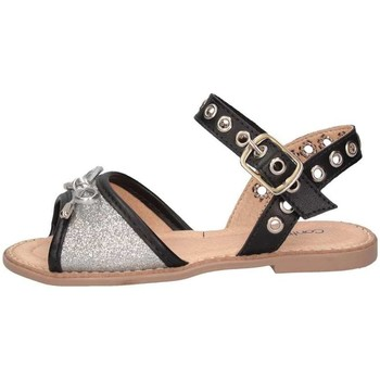Scarpe Bambina Sandali Contramao 3086134 ARGENTO GLIT Sandalo Bambina Glitter Argento Glitter Argento