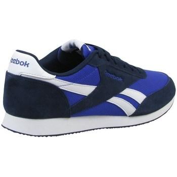 Scarpe Uomo Sneakers basse Reebok Sport Royal CL Jogger 2 Nero, Azzuro