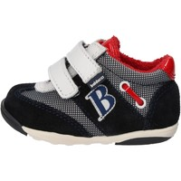 Scarpe Bambino Sneakers Balducci sneakers multicolor camoscio tessuto AG929 Multicolore