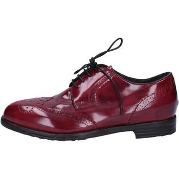 Scarpe Donna Classiche basse Moma scarpe donna  classiche bordeaux pelle lucida AC304 Rosso