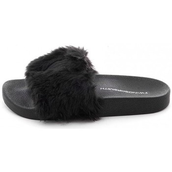Scarpe Donna ciabatte Windsor Smith SLIPPER IVY NERE Nero