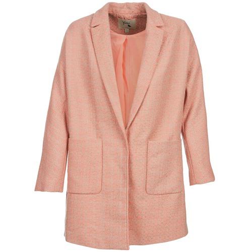 Abbigliamento Donna Cappotti Yumi AEKA Rosa