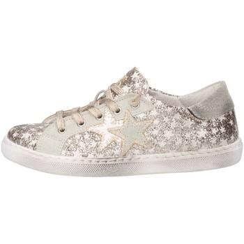 Scarpe Bambina Sneakers basse 2 Stars 2SB1149 Sneakers Bambina Oro Oro