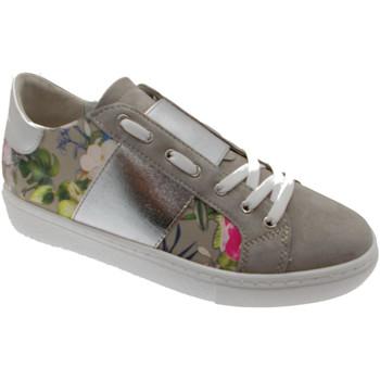 Scarpe Donna Sneakers basse Loren C3785 scarpa donna sabbia fiori ortopedica plantare estraibile blu