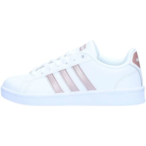 scarpe donna sneakers basse adidas bianco