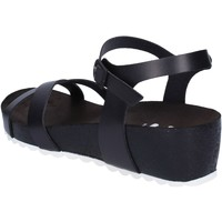 Scarpe Donna Sandali 5 Pro Ject sandali nero pelle bianco AC700 Nero