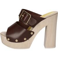 Scarpe Donna Sandali Suky Brand sandali marrone pelle AC764 marrone