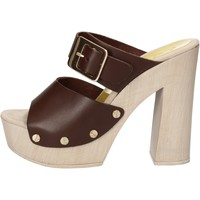 Scarpe Donna Sandali Suky Brand sandali marrone pelle AC765 marrone