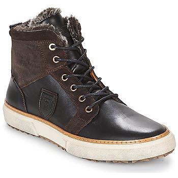 Scarpe Uomo Sneakers alte Pantofola d'Oro BENEVENTO UOMO FUR MID Marrone